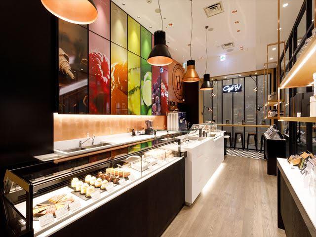 Comptoir pâtisserie Hugo Victor Nagoya